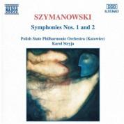 Szymanowski: Symphonies Nos. 1 and 2 - CD