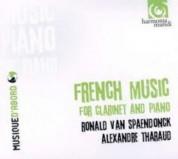 Ronald Van Spaendonck, Alexandre Tharaud: Musique Française pour clarinette et piano - CD