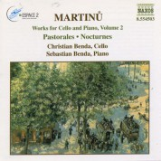 Martinu: Works for Cello and Piano, Vol.  2 - CD