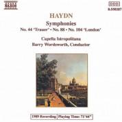 Capella Istropolitana: Haydn: Symphonies, Vol.  3 (Nos. 44, 88, 104) - CD