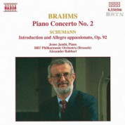 Jeno Jando: Brahms: Piano Concerto No. 2 / Schumann, R.: Introduction and Allegro Appassinato, Op. 92 - CD