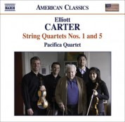 Pacifica Quartet: Carter, E.: String Quartets Nos. 1 and 5 - CD