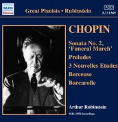 Arthur Rubinstein: Chopin Recording (1946-1958) - CD