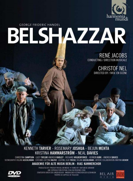 Akadémie für Alte Musik Berlin, RIAS Kammerchor, René Jacobs: Handel: Belshazzar - DVD