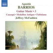 Jeffrey McFadden: Barrios Mangore: Guitar Music, Vol. 3 - CD