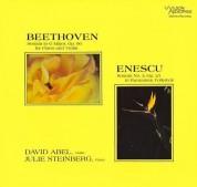 David Abel, Julie Steinbeck: Beethoven, Enescu: Violin Sonat - Plak