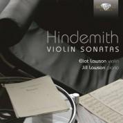 Eliot Lawson, Jill Lawson: Hindemith: Violin Sonatas - CD