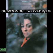 Carmen McRae: For Once in My Life - CD