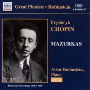 Arthur Rubinstein: Chopin: Mazurkas (Rubinstein) (1938-1939) - CD