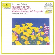 Wilhelm Kempff: Brahms: Fantasien op.116, Intermezzi op.117, Klavierstucke op.118 & op.119 - CD