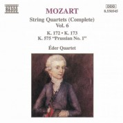 Mozart: String Quartets, K. 172-173 and K. 575, 'Prussian No. 1' - CD