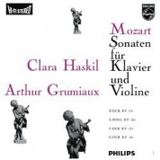 Clara Haskil, Arthur Grumiaux: Mozart: Sonatas For Piano And Violin - Plak