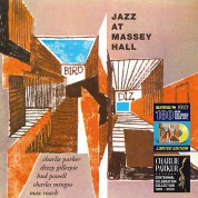 Charlie Parker: Jazz At Massey Hall Colored Centennial Edition in Transparent Yellow. - Plak