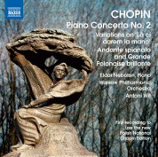 Eldar Nebolsin: Chopin: Piano Concerto No. 2 - Variations on La ci darem - Andante spianato and Grande polonaise brillante - CD