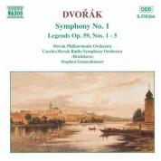 Dvorak: Symphony No. 1 / Legends Op. 59, Nos. 1-5 - CD