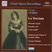 Verdi: Traviata (La) (La Scala) (1928) - CD