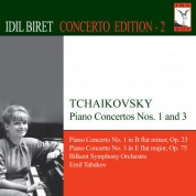 İdil Biret: Tchaikovsky, P.I.: Piano Concertos Nos. 1 and 3 - CD