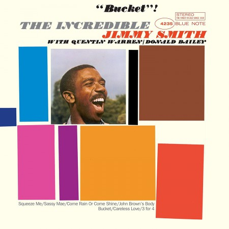 Jimmy Smith: Bucket - Plak