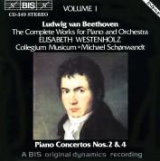 Elisabeth Westenholz, Collegium Musicum Copenhagen, Michael Schønwandt: Beethoven: Complete Works for Piano and Orchestra, Vol.1 - CD