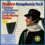 Chicago Symphony Orchestra, Carlo Maria Giulini: Mahler: Symphony No. 9 - Plak