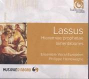 Ensemble Vocal Européen, Philippe Herreweghe: Lassus: Hieremiae Prophetae Lamentationes - CD