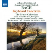 The Music Collection: Bach, J.C.: Keyboard Concertos, Op. 13, Nos. 2, 4 / Bach, J.C.F.: Keyboard Concertos, B. C29, C30 (Attrib. To J.C. Bach) (The Music Collection) - CD