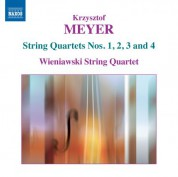 Wieniawski String Quartet: Meyer: String Quartets Nos. 1, 2, 3 & 4 - CD