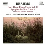 Christian Kohn, Silke-Thora Matthies: Brahms: Four-Hand Piano Music, Vol. 15 - CD