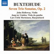 Buxtehude: Chamber Music (Complete), Vol. 2 - 7 Trio Sonatas, Op. 2 - CD