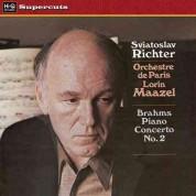 Sviatoslav Richter, Lorin Maazel, Orchestre de Paris: Brahms: Piano Concerto No. 2 - Plak