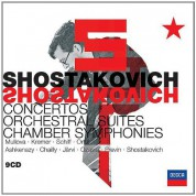 Shostakovich: Shostakovich Edition - Concertos, Orchestral Suites, Chamber Symphonies - CD