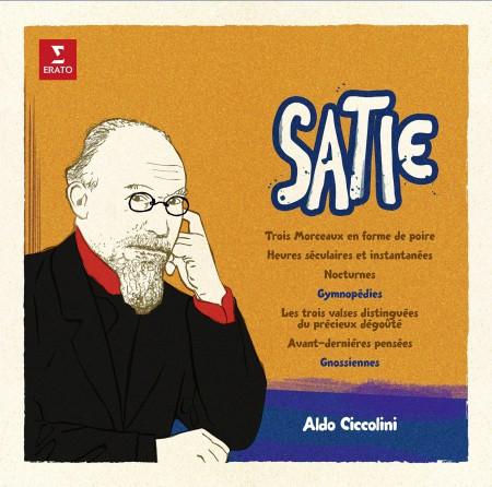 Aldo Ciccolini: Satie: Gymnopedies, Gnossiennes - Plak