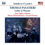 Pasatieri: Letter To Warsaw - CD