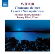 Michael Bundy: Widor: Chansons de Mer - CD