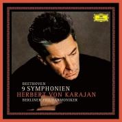 Herbert von Karajan, Berliner Philharmoniker: Beethoven: Symphonien No 1 - 9 - Plak