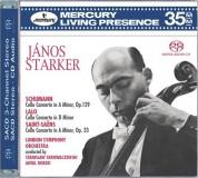 Antal Doráti, London Symphony Orchestra, Stanislaw Skrowaczewski: Schumann/ Lalo/ Saint-Saëns: Cello Concertos - SACD