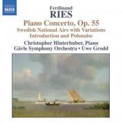 Christopher Hinterhuber: Ries: Piano Concertos, Vol. 2 - CD