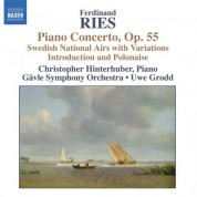 Christopher Hinterhuber: Ries: Piano Concertos, Vol. 2 - CD