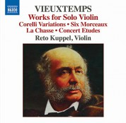 Reto Kuppel: Vieuxtemps: Works for Solo Violin - CD