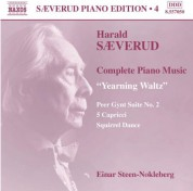 Einar Steen-Nøkleberg: Saeverud: Complete Piano Music, Vol. 4 - CD