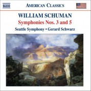 Gerard Schwarz: Schuman, W.: Symphonies Nos. 3 and 5 / Judith - CD