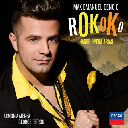 Max Emanuel Cencic - Rokoko / Hasse Opera Arias - CD