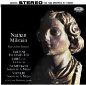 Nathan Milstein: Four Italian Sonatas - Plak