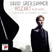 David Greilsammer, L'Orchestre De Chambre De Geneve, Lawrence Zazzo: Mozart In Between - CD