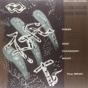 Pierre Boulez: Le Concerts Du Domaine Musical 1956 - Plak
