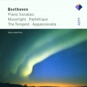 Maria João Pires: Beethoven: Piano Sonatas - Moonlight, Pathétique, The Tempest, Appassionata - CD