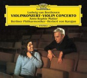 Anne-Sophie Mutter, Berliner Philharmoniker, Herbert von Karajan: Beethoven: Violin Concerto - CD