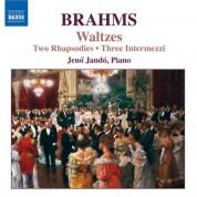 Jeno Jando: Brahms: Rhapsodies, Op. 79 / Waltzes, Op. 39 - CD