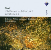 Orchestre Philharmonique de Strasbourg, Alain Lombart: Bizet: L'arlesienne Suites - CD