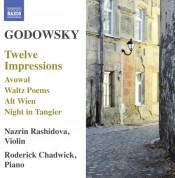 Roderick Chadwick, Nazrin Rashidova: Godowsky: 12 Impressions - CD
